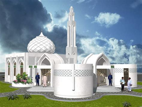 king2011 جیوے جیوے پاکستان: Mosque and school design 3D