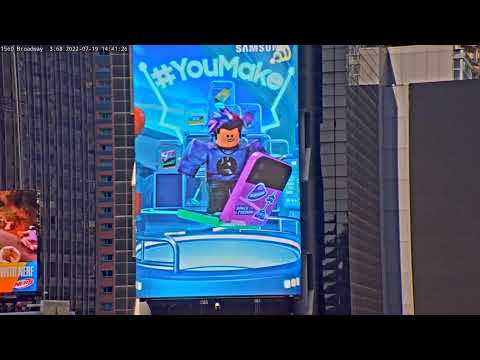 Times Square Live People Watching Big Apple Webcam Times