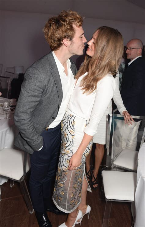 Sam Claflin and Laura Haddock Cute Pictures | POPSUGAR