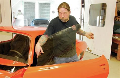 1971 Chevrolet Camaro Project Orange Krate - Glass and