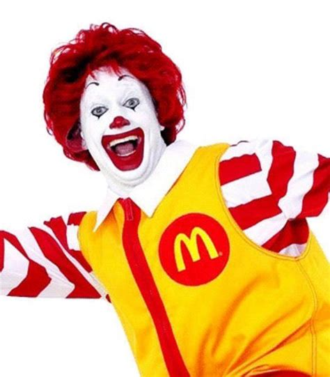 Ronald McDonald--he is a redhead after all