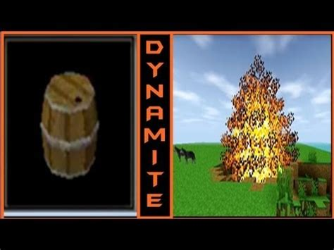 How to make a TNT/ Keg/ Dynamite in Survival Craft