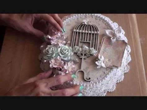 Shabbychic Birdcage Canvas ( 2nd Design team project for
