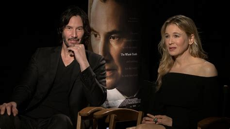 EXCLUSIVE: Renee Zellweger and Keanu Reeves Explain Why