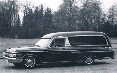 1962 Mercury Monterey Hearse by Pollmann
