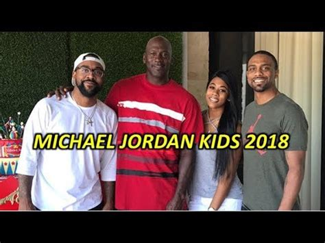 Michael Jordan Kids 2018 | Sons, Daughters And Wife - STAR