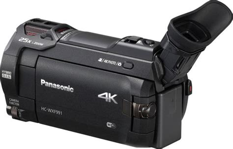 Panasonic: New 4K Camcorders HC-WXF991and HC-VX981 Have In