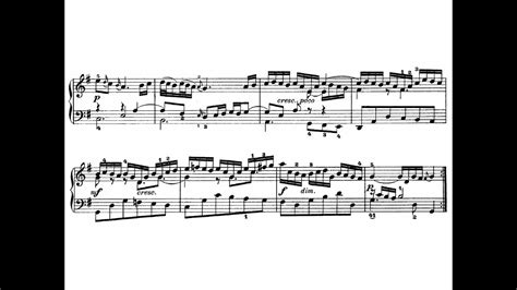 Bach - Goldberg Variations, Aria (with sheet music) - YouTube