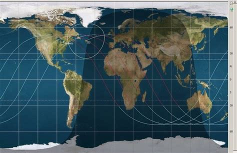 How does the ISS orbit the earth? - Quora